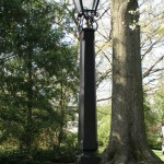 A tale of Two Yard Lamps